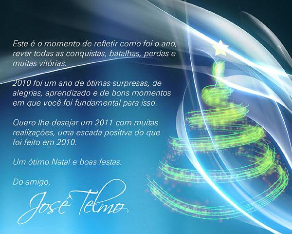 Jose Telmo: Mensagem de Natal