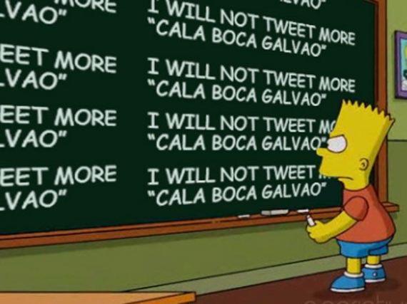 Cala Boca Galvão Simpsons