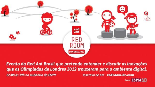 1º Encontro Red Room no Rio de Janeiro: Olimpíadas 2012