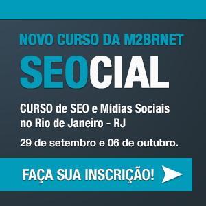 Curso SEOCIAL (SEO e Mídias Sociais) no RJ