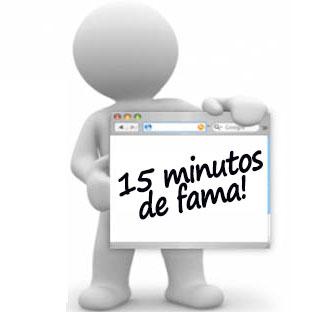 José Telmo participando do 15 Minutos de Fama