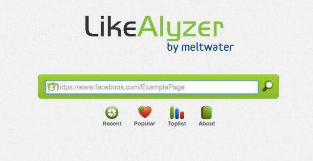 LikeAnalyzer: ferramenta para analizar fan pages